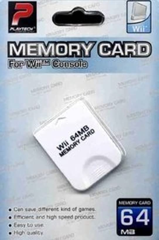 Playtech 64mb Memory Card for Wii Console (Certified Refurbished)