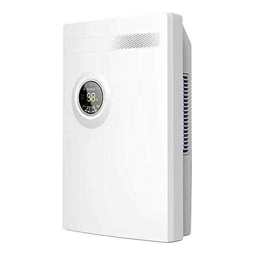 MADHEHAO Dehumidifier, Compact Deshumidificador LED display air conditioner purifier dehumidifier air dryer bedroom basement home 2200ml 220V