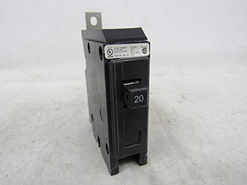 GHQ1020-Thermal Magnetic Circuit Breaker, G-Frame, Ghq Series, 277 VAC, 20 A, 1 Pole, DIN Rail, Panel