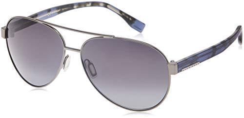 Hugo Boss Herren BOSS 0648/F/S HD OJQ 64 Sonnenbrille, Grau (Rt Bl Hvngry/Grey Sf)