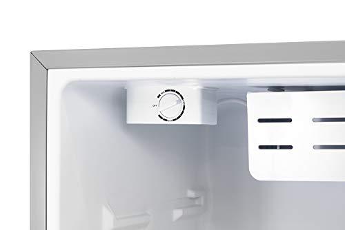 31ySmwnqMwL - Inventor Mini Nevera A+ con Compresor, 66 litros de Capacidad, Color Plata, Silenciosa e ideal para hoteles, estudiantes, dormitorios y pequeños hogares