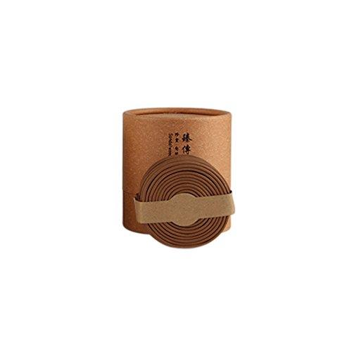 Fenteer 48 STK. Buddha Weihrauch Spirale Räucherstäbchen mit verschiedenen Duft, aus Natürlicher Pflanzen - Alte Sandelholz