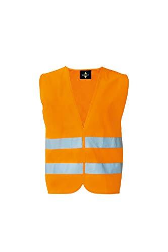 Korntex X217OXXL Warnweste Standard - 1 Klett, Orange, XXL