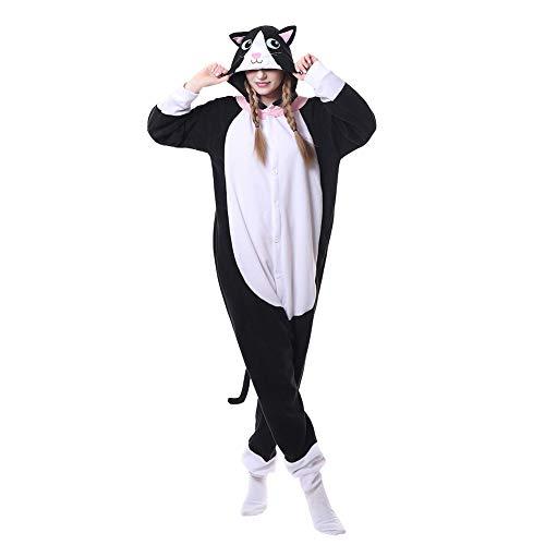 LPATTERN Pijama Animal Entero Capucha Unisex Adultos