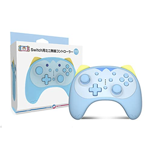 zhiang Switch Case Kawaii-Pro Controller für Nintendo Switch / Switch Lite, Kitty Switch Controller für Mädchen Frauen (Blau)