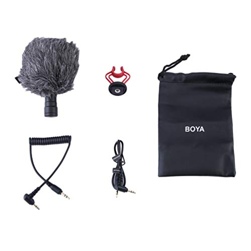Preisvergleich Produktbild Wenwenzui BOYA Shotgun Form Mikrofon Aufnahme MIC Video für Smartphone DSLR-Kamera