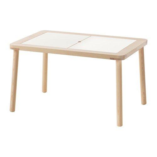 Ikea FLISAT - Mesa Infantil de Madera Maciza (83 x 58 cm) 🔥