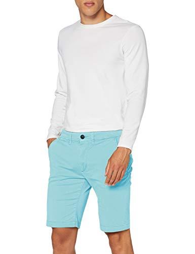 Pepe Jeans Herren Mc Queen Short Badeshorts, Blau (Dark Acqua 518), 36 (Herstellergröße: 28)
