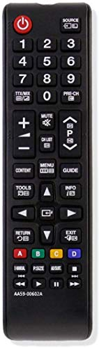 MYHGRC Neue Ersatz Fernbedienung AA59-00602A für Fernbedienung Samsung smart tv LED HD Fernseher Kompatible Modelle BN59-01175N AA59-00603A AA59-00741A AA59-00786A AA59-00622A BN59-01247A AA59-00743A
