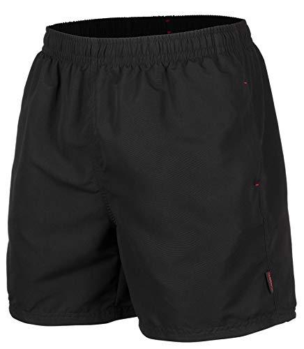 Zagano Adam Lipski Herren Badeshort, 5013.F Black, Gr. S/Badehose/Badeshorts/Beach-Shorts/Bermuda-Shorts/Freizeit-Hose