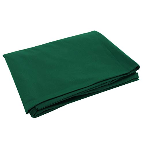 ExcLent 2.5X1.45M Single-Sided Billiards Pool Snooker Table Cover Cloth For 7/8 Inch Table - grün