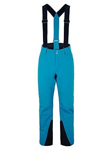 Ziener Herren TAGA Ski Snowboard-Hose | Atmungsaktiv, Wasserdicht, Steel Blue, 52