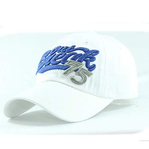 75 Gorra de béisbol Sombrero Lavado de algodón Puro...