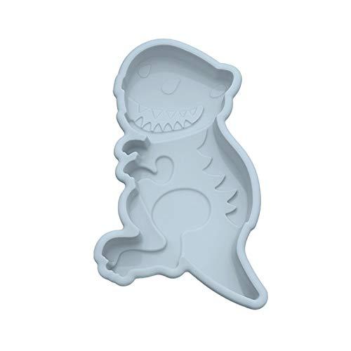 Fende 3D-Silikonform mit niedlichem Kaninchen-Alpaka-Dinosaurier-Lebkuchenmann-Form, Kuchenform, DIY-Bastelwerkzeug, antihaftbeschichtet, für Zuhause