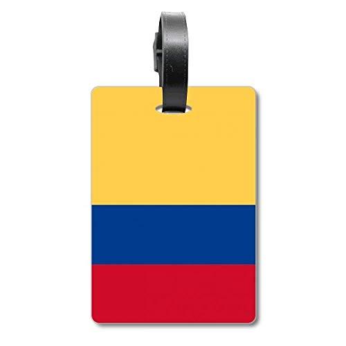 Etiqueta de identificación para Maleta de la Bandera Nacional de Colombia