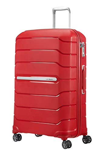 SAMSONITE Flux - Spinner Koffer, 75 cm, 121 Liter, Red