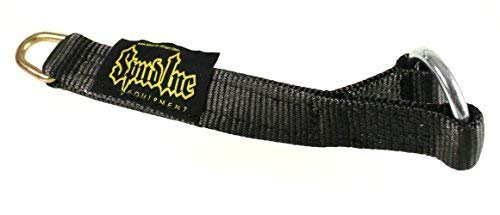 Spud Black Strap Loading Pin for Olympic Weight Plates. for Weight Lifting, Crossfit and Powerlifting Exercises. (18 inches Long)