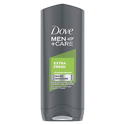 Dove Men+Care Duschgel, mit MicroMoisture Extra Fresh kühlende Wirkung, 6er Pack (6 x 250 ml )