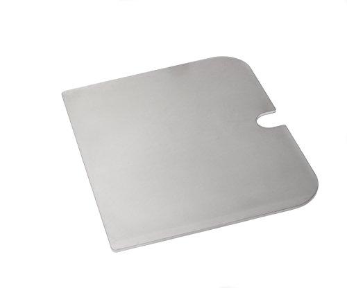 Edelstahl Grillplatte, Griddle-Plate für Weber Go-Anywhere