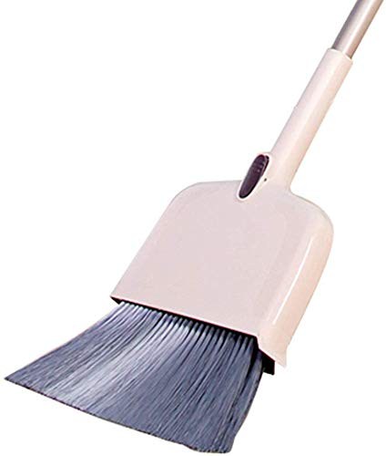 Buy Discount Zichen Long Handle Broom Set Dustpan and Brush Sets Cleaning The Room Labor Saving Easy...