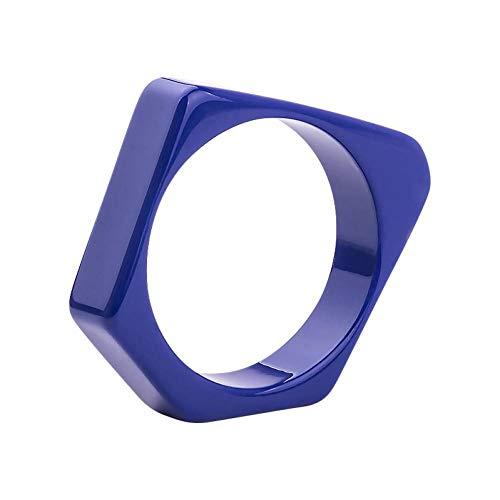 HMKLN Guanlong Marca Diseño Geométrico Irregular Resina Brazalete Pulseras Puseiras Joyería para Envío de La Gota al por Mayor
