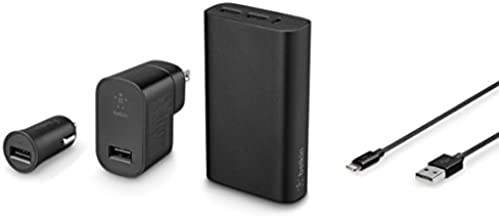 Belkin MIXIT↑ Metallic Colormatch Charge Kit + Cable (Black)