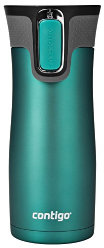 Contigo AUTOSEAL West Loop Vaccuum-Insulated Stainless Steel Travel Mug, 16 oz, Biscay Bay