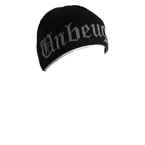 Böse Buben Club Unbeugsam Beanie Hat Mütze Kappe Tattoo Gothic Schwarz