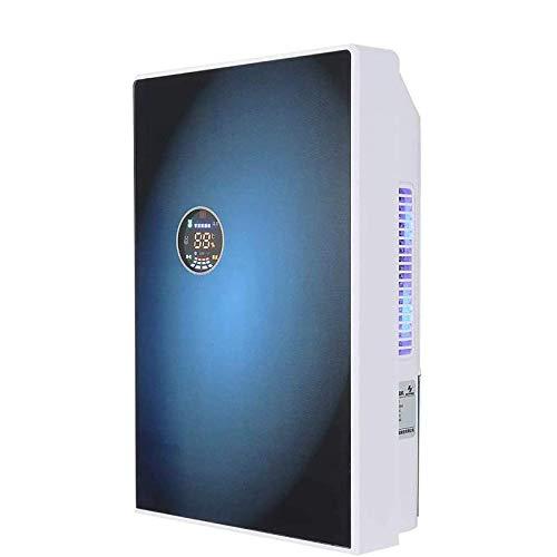Deshumidificador Dormitorio para el hogar Almacén de sótano Deshumidificación silenciosa, absorción de humedad y secado, LED inteligente, visualización en tiempo real de temperatura, humedad, estado d