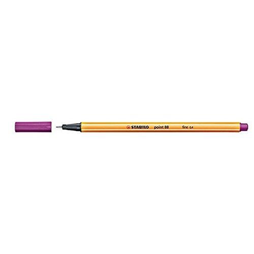 Stabilo 718753 0.4 mm Point 88 Felt-Tip Pen - Pink