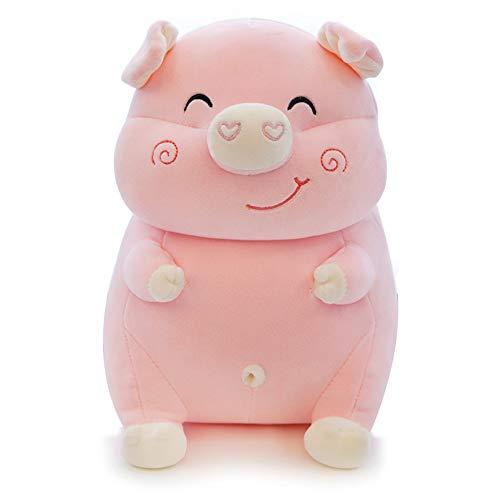 Lazada Pig Felpa Almohada rellena Animal Felpa Mascota Regalo para niños niñas Rosa 14 Pulgadas