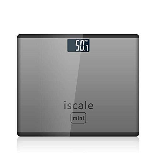 HYY-YY Weegschaal Elektronische weegschalen, Huishoudelijke Volwassen Gezondheid Lichaamsgewicht Meter Badkamer Vloerschaal voor Mensen, 180Kg / 400Lb