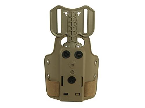 Safariland 6004 Small Tactical Plain w/DFA 6004-25-55, Dark Earth