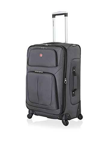 SwissGear Sion Spinner Luggage 25', Dark Grey