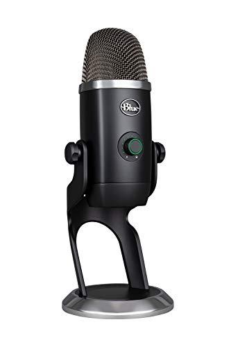 Blue Microphones Yeti X フラグシップ USB コンデンサー マイク BM600X Blackout ブラック ゲーミング ストリーミング カスタマイズ可能なLEDライティング Windows MAC テレワーク 国内正規品 2年間メーカー保証