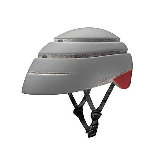 Closca Helmet Loop (Grau-/Rotwein, L)