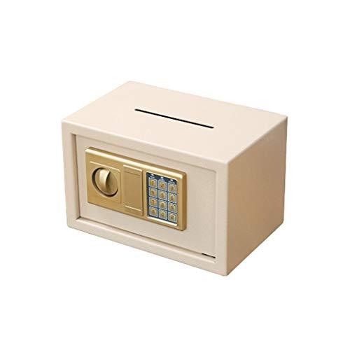 Gummi-Sparschwein / Sparschwein Kennwort Box Piggy Bank, Erwachsene Sichere Piggy Bank, Geschenk-Cash Box Stabile Aufbewahrungsbehälter, Schlüsselkasten-Aufbewahrungsbehälter aus Edelstahl Geld sparen