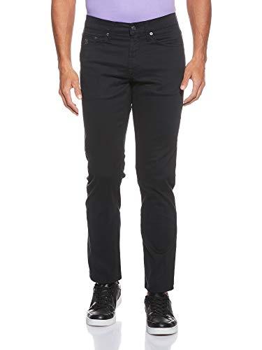 U.S. Polo Assn. Men's Slim Straight 5 Pocket Stretch Twill Jean, Black, 33Wx30L
