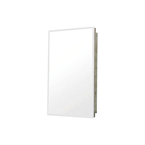 Pegasus Recess Mount Stainless Steel 16W x 20H in. Medicine Cabinet SP4591