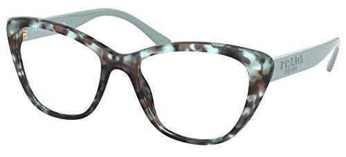 Prada Gafas de Vista PR 04WV Green Havana 54/18/140 mujer