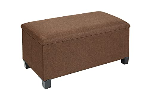 Fresh Home Elements Tray Coffee Table Ottoman
