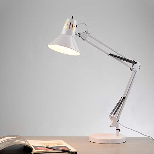 N\A ZGGYA Moderne Einfache Schwenkarm Tischlampe LED Leuchte Architekt Schreibtischlampe Metall Schwingarm...