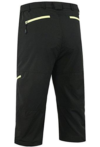 Lovache Herren Radhose 3/4 MTB Radsport Shorts Atmungsaktive Wasserdicht Outdoor Fahrradshorts mit Reißverschluss - 4