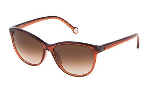 Carolina Herrera SHE6535501F3 Gafas de sol, Marrón, 55 para Mujer