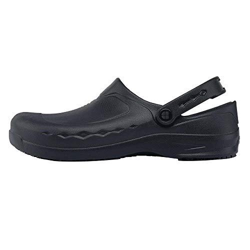 Shoes for Crews 66064V-42/8 ZINC NOIR, Chaussures antidérapantes pour femmes et hommes, Taille 42, Noir
