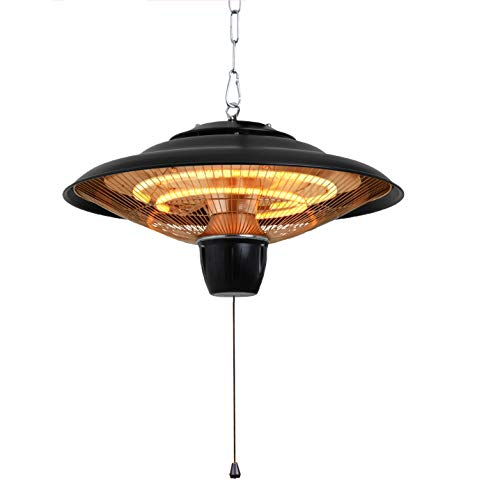 DONYER POWER 1500W Electrical Patio Heater, Ceiling Mounted, Outdoor or Indoor Use