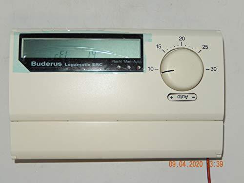 BUDERUS Ecomatic/Logamatic ERC Raumcontroler mit AM 1 Modul, Software: 1.4 und Handbuch-Seriviceanleitung,geprüft ist funktionsfähig