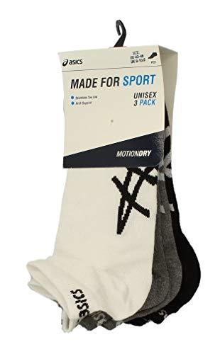 ASICS Made For Sport Unisex 3er Pack Motion Dry Socken 132724 (EU 43-46, Mehrfarbig)