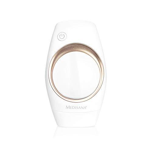 Medisana IPL 840 Aparato de depilación, depilación para una piel permanentemente lisa, reducción del vello con 100.000 impulsos de luz, depiladora con sensor cutáneo y 6 niveles de intensidad