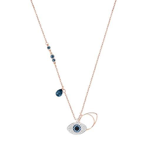 Swarovski Pendente Swarovski Symbolic Evil Eye, Azzurro, Mix di Placcature